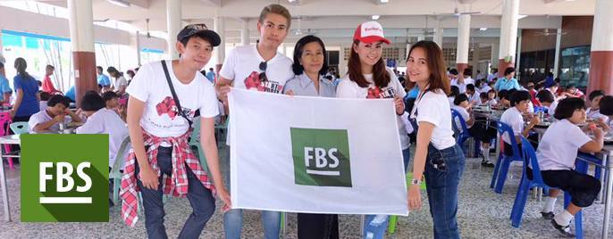 FBS helps children in Thailand! Let's do good together!
