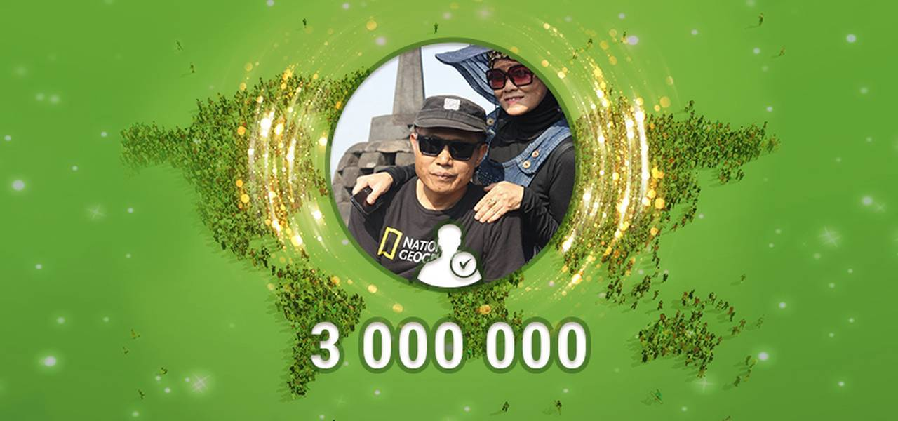 Congratulations to the 3 millionth trader!